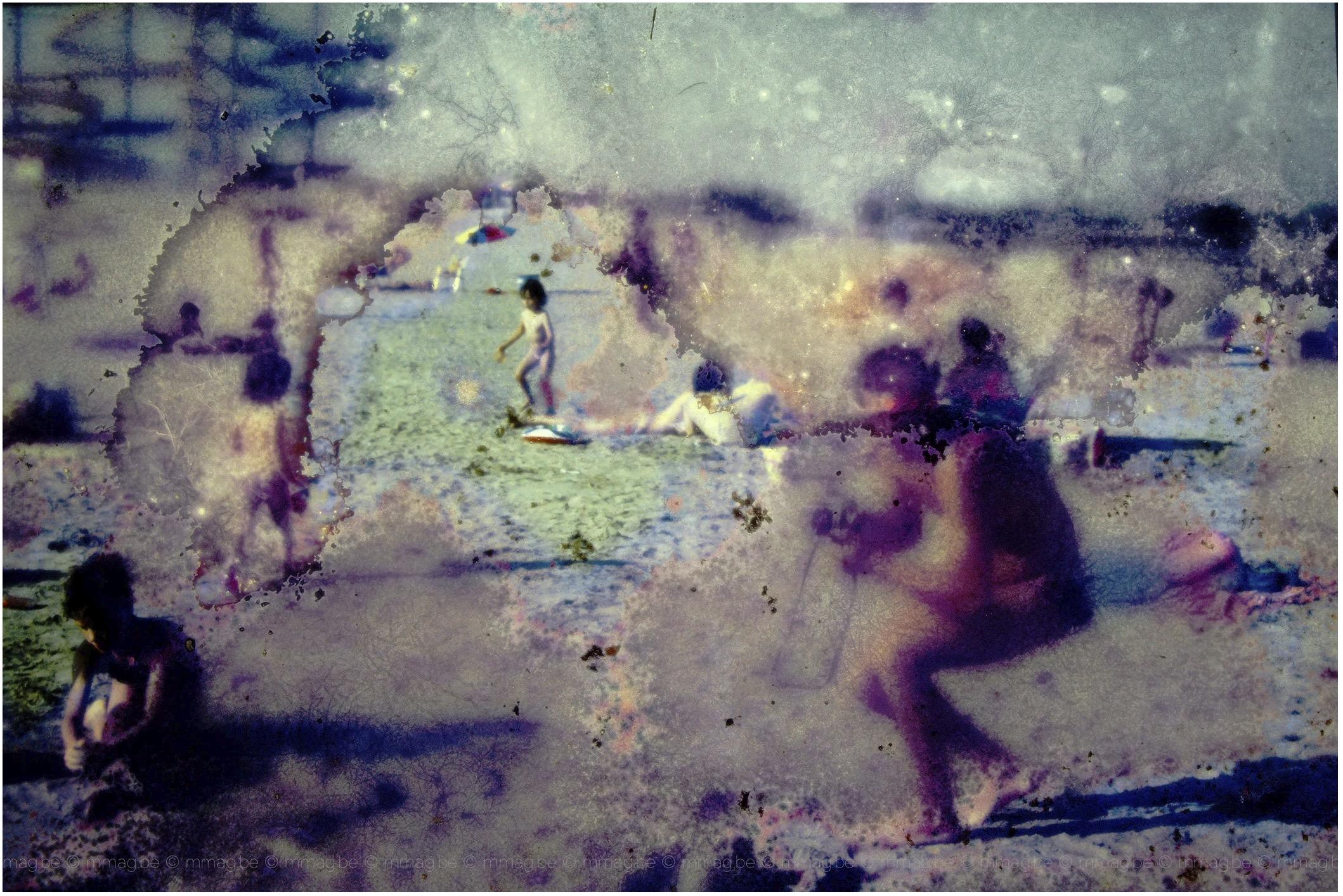 Michel Mangon expose sa série Souvenance.